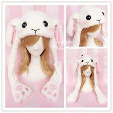 Cute Rabbit Hat Ear Moving Jumping Hat Lolita Rabbit Lop Ear Warm Hats