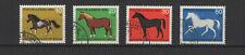 1969 Allemagne Berlin chevaux  4 timbres oblitérés /T2209