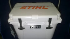 New YETI roadie 20 cooler White Limited Edition STIHL YR20W Display Model