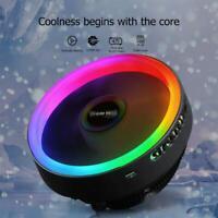 12cm 12V 3Pin PC Computer CPU Heatsink Cooler Cooling Fan Radiator RGB LED Light