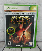 Star Wars Knights of the Old Republic (Microsoft Xbox, 2004) Video Game Complete