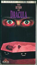 THE RETURN OF DRACULA (1958) Cult Horror - Original 1993 MGM / UA Home Video VHS