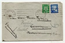 Germany 1925 cover from Munich to Denmark
