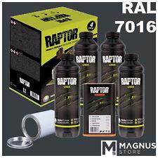 U-Pol Raptor Kit Vernice antigraffio 4L + indurente UPOL -G. ANTRACITE  RAL 7016