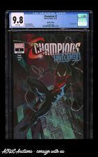 Marvel Comics - Champions #1 'Outlawed' (Walmart Variant) - CGC 9.8