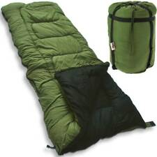 5 Seasons Green Sleeping Bag Carp Fishing High Tog Rating Camping Hunting NGT