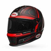 Bell Eliminator Helmet Hart-Luck Matte/Gloss Black/Red/White