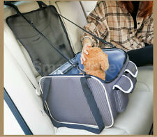 Portable Pet Carrier Cat Dog Car Booster Seat Folding Travel Bag Soft Crate Cage