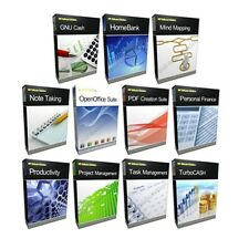 Business Project Management Microsoft MS 2003 2010 Compatible Software Bundle