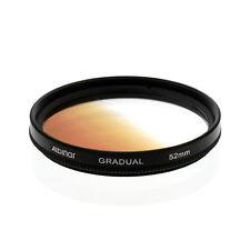 Albinar 52mm Brown Coffee Graduated Gradual Color Filter