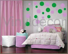Vinyl wall art 216 Polka dots circles sticker decal Lig