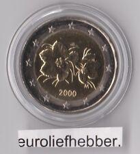 Finland       2  Euro 2000 UNC in CAPSULE  Op voorraad, direct leverbaar