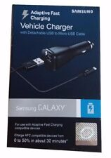 Geniune OEM Samsung Adaptive Fast Charging Vehicle Car Charger & Micro-USB Cable