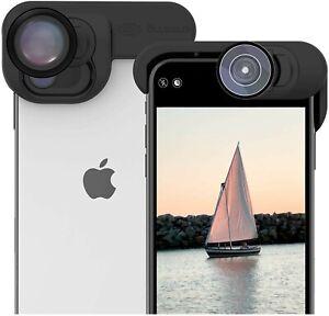 OLLOCLIP iPhone 11 Elite Pack Camera Lens Apple iPhone Fisheye Macro 15X