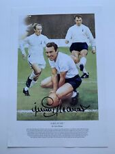 """More details for jimmy greaves """"greavsie"""" authentic signed spurs 20x14 photo by gary keane"""
