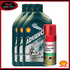 Shell Semi/Part Synthetic Vehicle Engine Oils 4 L Volume