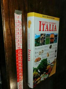 LIBRO -Guida Gourmet Italia - Stupenda Guida Illustrata - Geo + Mondadori