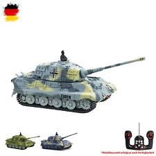 RC ferngesteuerter Deutscher Königstiger Panzer-Modell, King Tiger im 1:72, Tank