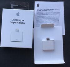 Genuine Apple Lightning to 30-Pin Adapter A1468 iPod / iPhone /iPad