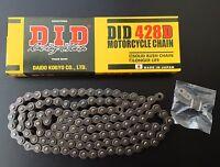 DID Kette, DID 428 D, Honda CBR 125 R, JC50, Bj. 11-16, 128 Glieder, 1/2x5/16