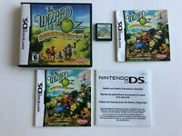 Nintendo DS Video Game: The Wizard of Oz: Beyond the Yellow Brick Road W/ Case