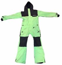 Airblaster Freedom Suit Mens Medium Volt Green Snowboarding Insulated One Piece
