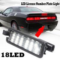 18 LED Rear License Plate Light For Dodge Charger Challenger Chrysler 300