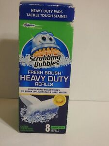 Scrubbing Bubbles Fresh Brush Heavy Duty Refills of 8 Ct.