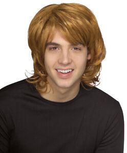 Reddish Blond 70's Shag Wig Costume Accessory