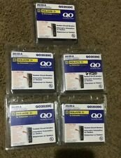 Lot of (5) NEW! Square d QO2020C 2 Pole 20A Circuit Breakers - free shipping