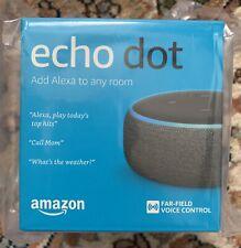 Amazon Echo Dot 3rd Generation Smart Speaker with Alexa Charcoal NEW