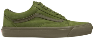 Vans Og Old Skool Lx (Nubuck Leather) Pstbrtolv Men's Size 10 Shoes VN0A4P3XTLV