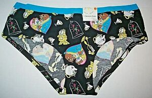 Disney Beauty And The Beast Womens Underwear - Available Small - 2XL