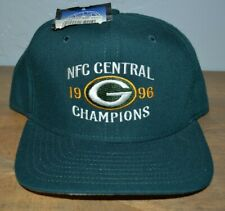 New Vintage Stock New Era  Green Bay Packers Hat 96 AFC CHampions