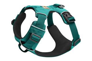 Ruffwear Front Range Dog Harness 30502/421 Aurora Teal NEW