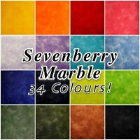 Sevenberry Marble Blender Mottled Cloudy 100% Cotton Patchwork Fabric Material