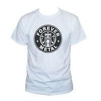 Heavy Metal Funny T shirt Hard Rock Music Band Graphic Tee S M L XL XXL Mens/