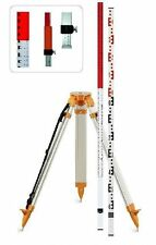 Geo-Fennel Tripod & Staff Set - for Rotary Lasers