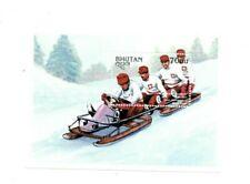 SPECIAL LOT Bhutan 1997 1142 - Winter Olympics - 50 Souvenir Sheets - MNH