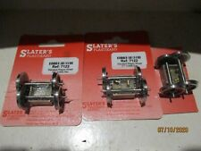 SLATERS 0 GAUGE WAGON WHEELSETS x 3 CARDS