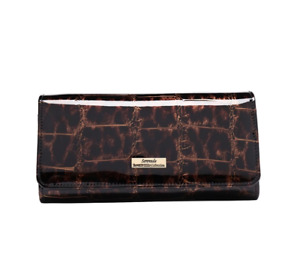 Serenade - Leopard WH701G RFID Protected Large Leather Wallet