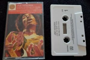 Jimi Hendrix- Live in New York (Cassette Album) Tape