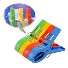 4Pcs Big Plastic Windproof Clothes hanging Peg Beddable Quilt Sheet Clip Racks