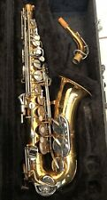 Selmer Bundy II 2 Alto Sax Student Saxophone Hard Case Made in USA