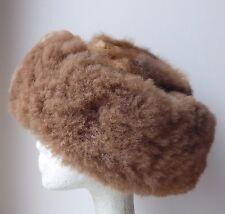 Peruvian Luxurious Alpaca Fur Hat - Adult Size (24.5 inches around)