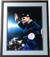 Joe Torre Yankees signed 16x20 2000 world series  photo framed HOF Steiner COA