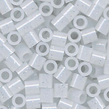 1000 Perler Clear Glitter Color Iron On Fuse Beads  80-15187