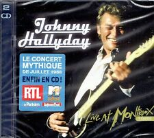 CD - JOHNNY HALLYDAY - Live at montreux 1988