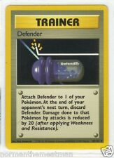 Base Set Pokemon Card-Trainer Defender -#80/102 Mint- Never Played
