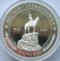 Namibia 1987 South-West African Colonial 5oz Silver Coin,Proof